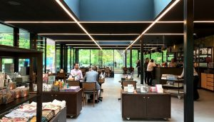 Kew Gardens Pavilion Bar and Grill Restaurant, London