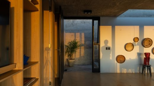 Contemporary Two Family Residences in Argentina design by Cabanillas Gonzalo, architect
