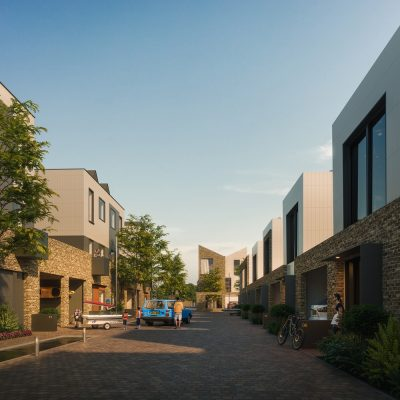 New Town Quarter in Northstowe-cambridgeshire