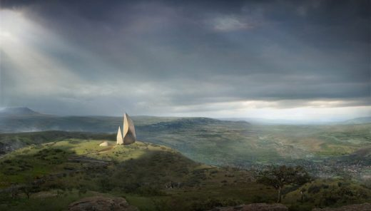 The Museum of Humankind in The Great Rift Valley by Daniel Libeskind