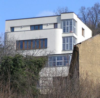 Functionalist villa Prague Architecture Tours