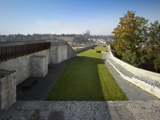 Revitalisation of the Crucifix Bastion in Prague