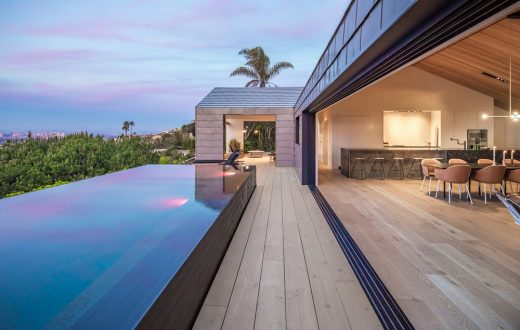 Contemporary Luxury Property with Views design by The Brown Studio, Inc