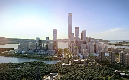 Shenzhen Bay Headquarters City in China
