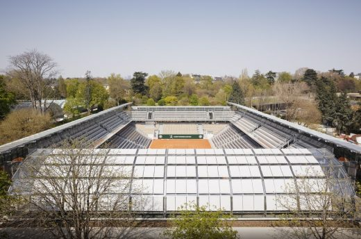 Simonne Mathieu Tennis Court in Paris