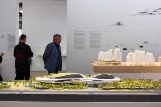 The Future City in Exhibition MadX at Centre Pompidou Paris by MAD Architects