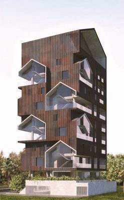 Contemporary Sorkhrood Residential Building