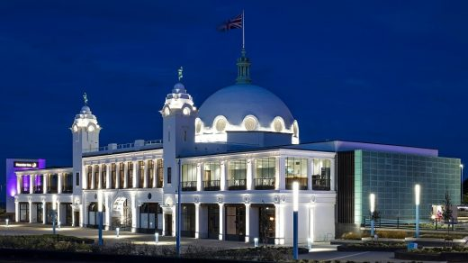 Spanish City regeneration project in Whitley Bay - Scottish Architecture News