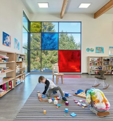 Whole Earth Montessori School Building in Bothell