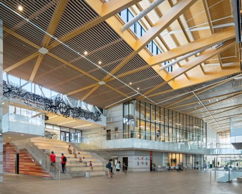 Aaniin Community Centre building by Perkins + Will