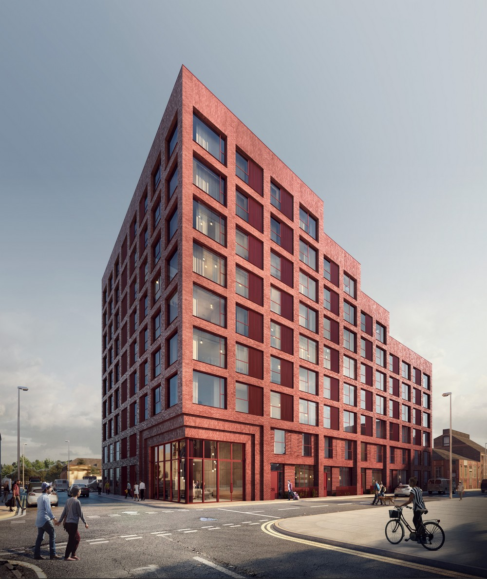 Street Housing: Manchester Building News: Architecture