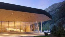 Andermatt Concert Hall Building Switzerland by Studio Seilern Architects