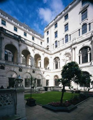 Bank of England Building courtyard London