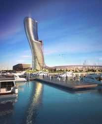 Capital Gate Abu Dhabi world buildings