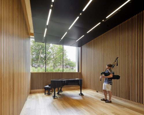 The Clore Music Rooms, New College, University of Oxford interior