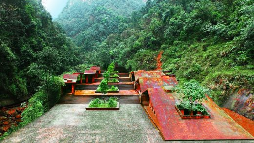 Danxia World Heritage Gateway in Guizhou