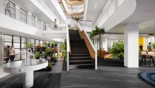 EDGE Olympic in Amsterdam office interior