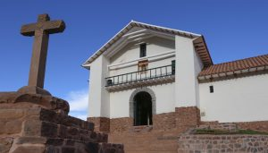 Exterior of the church of Kuñotambo after conservation