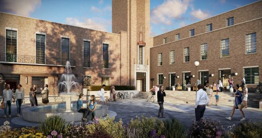 Hornsey Town Hall Renewal design