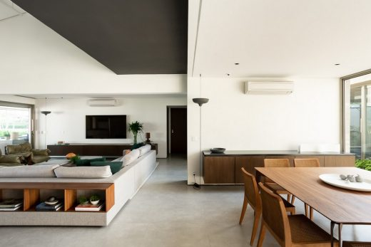 Luxury Contemporary Villa and Pool in SP, Brazil, by Basiches Arquitetos Associados