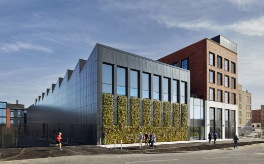 IMPACT Swansea University Research Facility building by AHR Architects