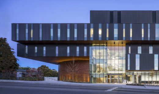 The Lazaridis Hall building Wilfrid Laurier University Ontario