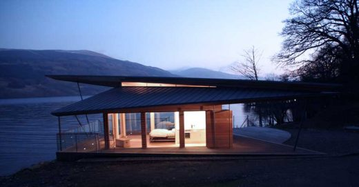 Loch Tay Boat House, Perthshire