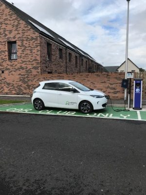 Electric Car Charging Points - Process of getting a vehicle MOT tested