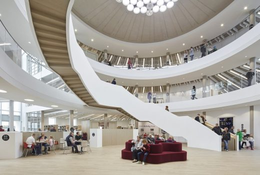 Nottingham Central Library building interior