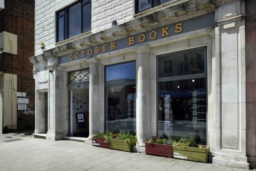 October Books Portswood facade