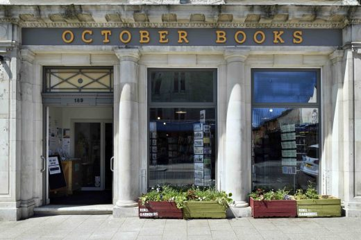 October Books Portswood Road facade