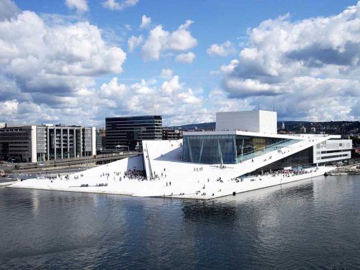 Oslo Opera House architecture in Norway