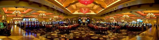 Casino interior architecture