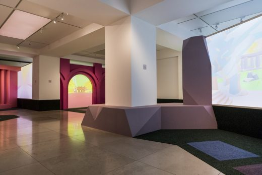 Playing the Picturesque – an exhibition by You + Pea at The Architecture Gallery, RIBA London