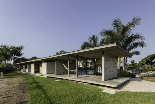 Morelos Pool House and Housing Development in Mexico
