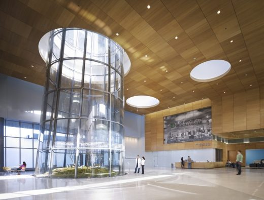 Rush University Medical Center building by Perkins + Will