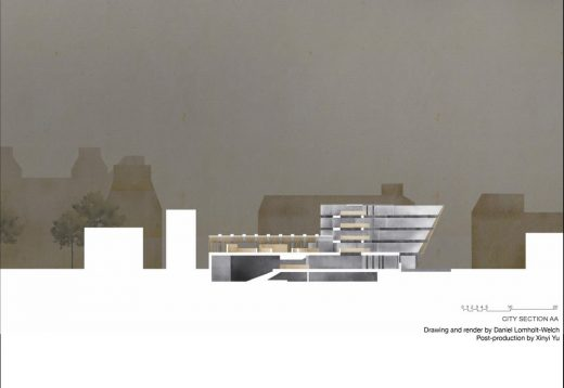 Edinburgh School of Architecture student work from 2019