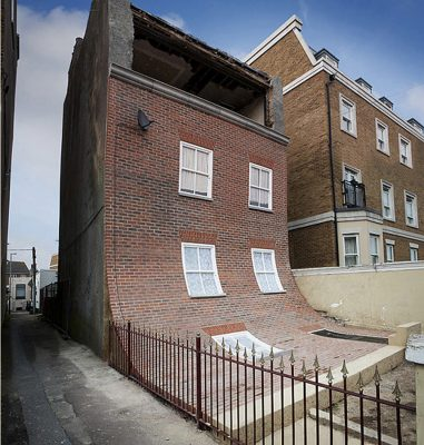 Margate's amazing sliding house