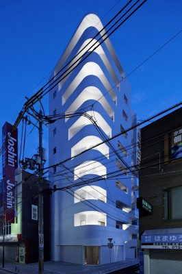 Step Tower Osaka Japan by EASTERN design office