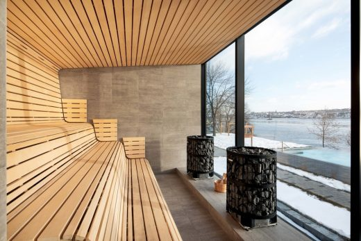Strom Nordic Spa in Old Quebec