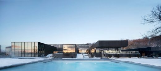 Strom Nordic Spa in Old Quebec - Canadian Architecture News