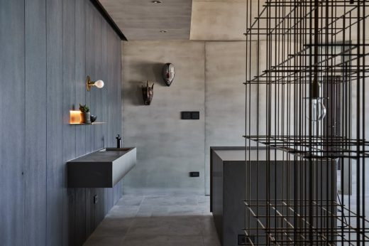 Zhuwei apartment, Tam.sui residential building interior design