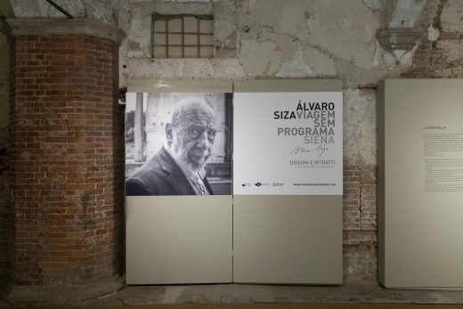 Travel without Program Alvaro Siza Exhibition in Sienna