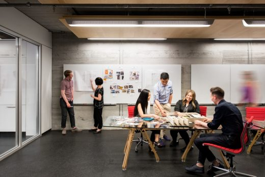 Vancouver Studio office interior by Perkins + Will