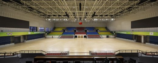 Yizheng Comprehensive Gymnasium Jiangsu sports building