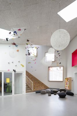 Amager Childrens Culture House interior by Dorte Mandrup Architects