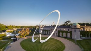 Aston Martin Sculpture at Goodwood Festival of Speed 2019