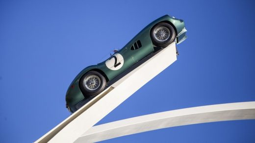 Aston Martin Central Sculpture at Goodwood Festival of Speed 2019