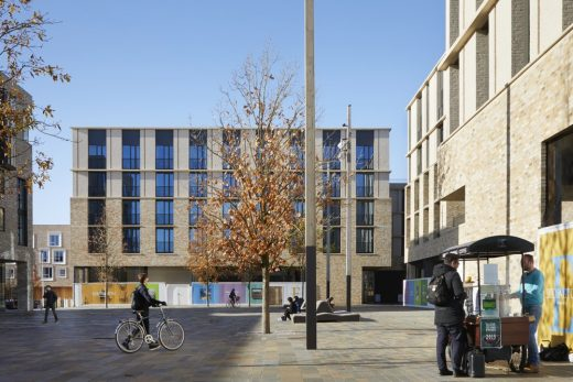 North West Cambridge building by Stanton Williams Architects