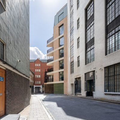 18 Wells Street Fitzrovia buildings for The Berners-Allsopp Estate